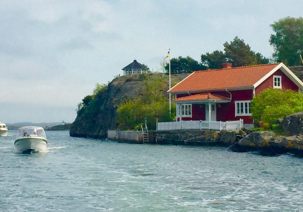 Boat tour Gothenburg archipelago