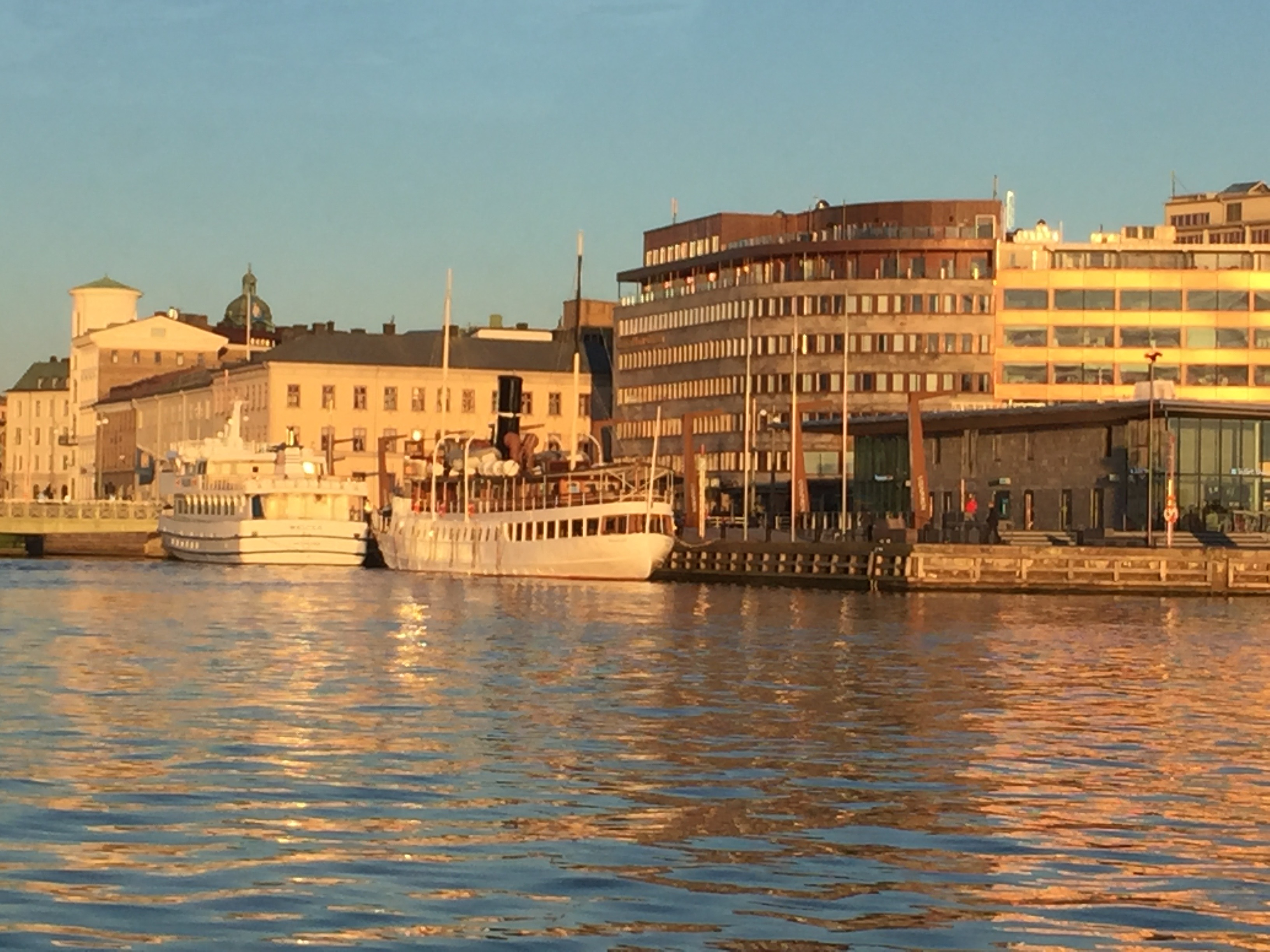 Tur från Göteborgs Operan till Hönö