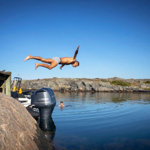diving-private-VIP-island-gothenburg